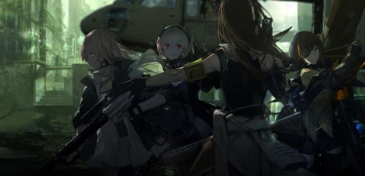 原创二次元军武枪娘策略养成手游!