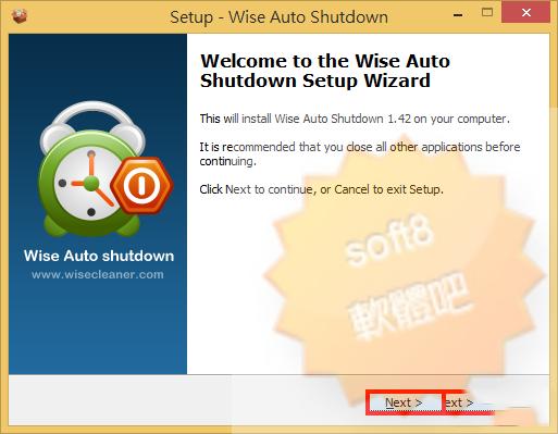 Wise Auto Shutdown 1.4 汉化免费版