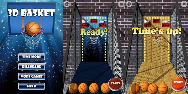 3D投篮机游戏下载