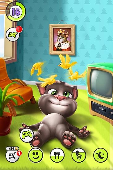 我的汤姆猫无限金币钻石破解版游戏