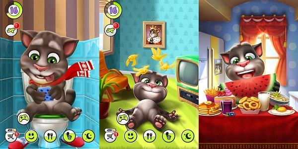 我的汤姆猫无限金币版:一款好玩的休闲益智游戏