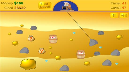 黄金矿工游戏手机版