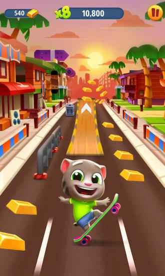 汤姆猫跑酷破解版苹果