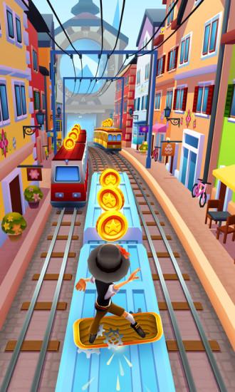 地铁跑酷无限金币版最新