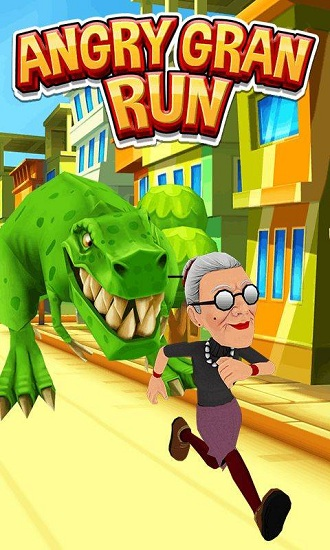 愤怒的老奶奶玩跑酷万圣节版手游