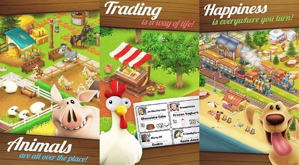 卡通农场无限金币钻石版游戏