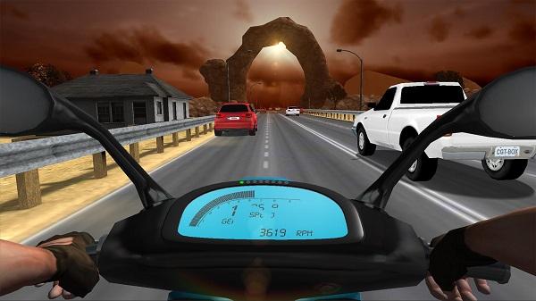 公路骑手汉化无限金币版游戏