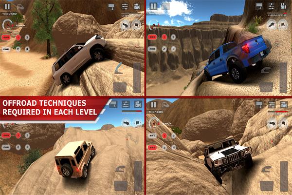 越野驾驶:沙漠全解锁版游戏