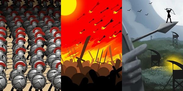 火柴人战争无限兵力版游戏
