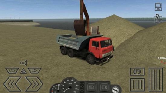 卡车运输模拟汉化版手游