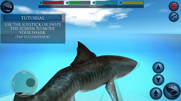 究极鲨鱼模拟无限经验游戏