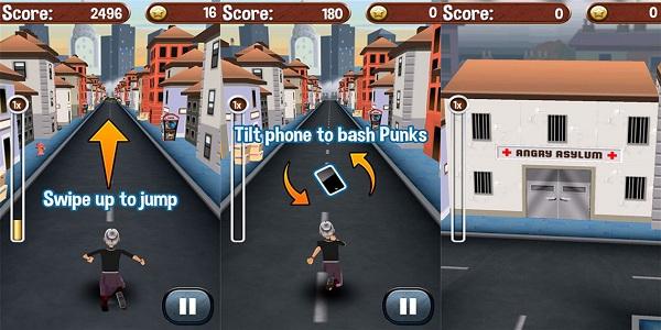 愤怒的老奶奶酷跑中文版游戏