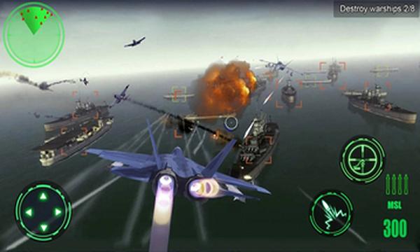 空中战场3D无限金币版游戏