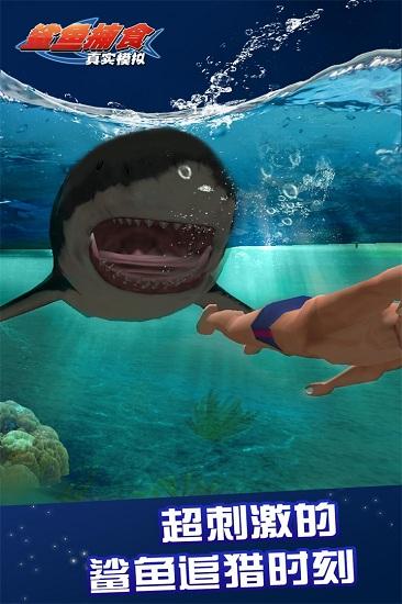 真实模拟鲨鱼捕食最新版