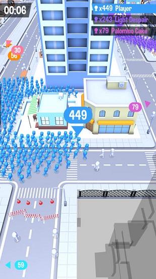 拥挤城市破解版无限钻石
