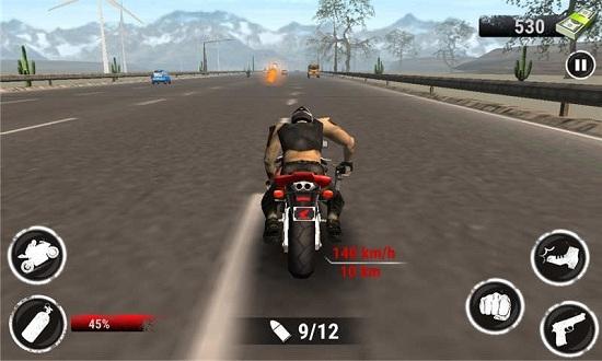 野蛮摩托赛车无限金币版下载