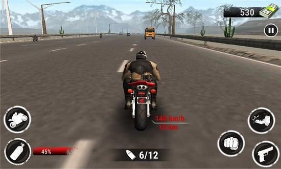 野蛮摩托赛车无限金币版手游