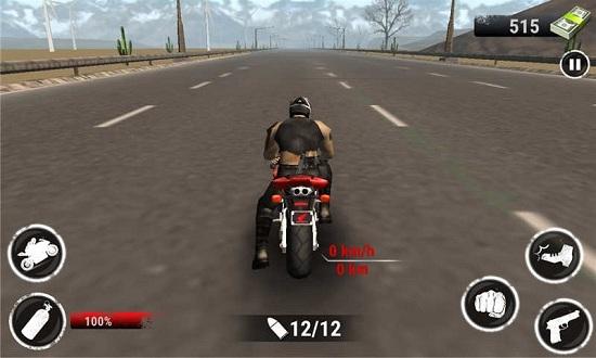 野蛮摩托赛车破解版无限钻石游戏