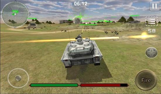 坦克战争罢工3D内购破解版