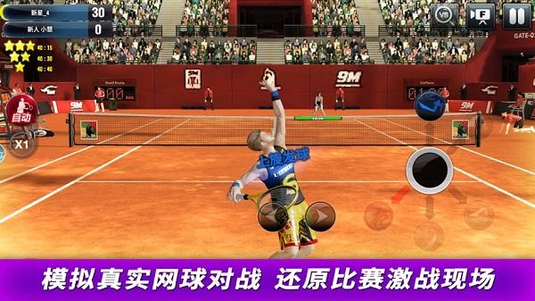 冠军网球中文破解无限钻石下载