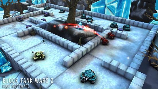 方块坦克大战2钻石版游戏