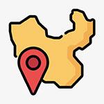地图中国高清卫星地图