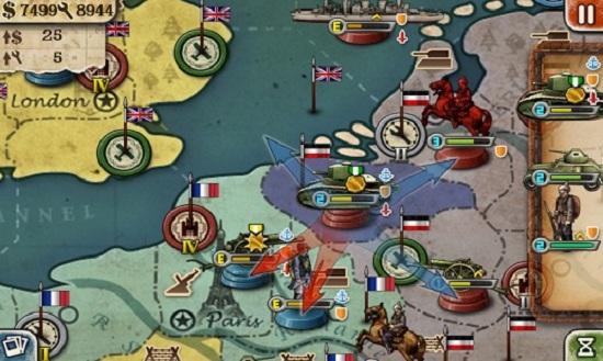 欧陆战争3无限金币版最新