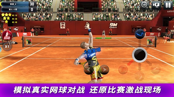 冠军网球破解版无限最新