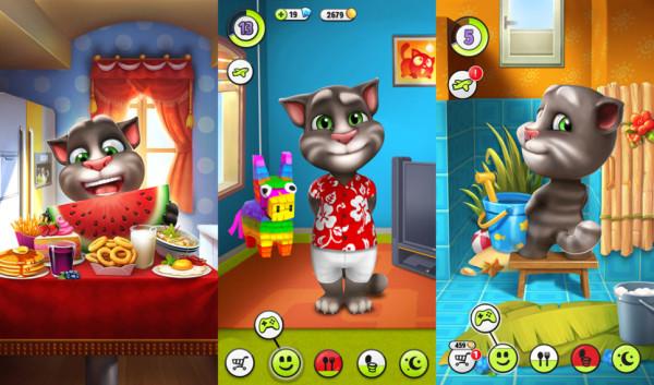 我的汤姆猫无限金币版无限钻石