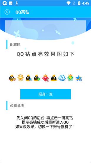 QQ亮钻大师实用工具盒
