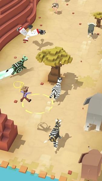 疯狂动物园无限破解版游戏