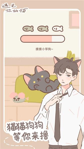 遇见你的猫无限金币版游戏