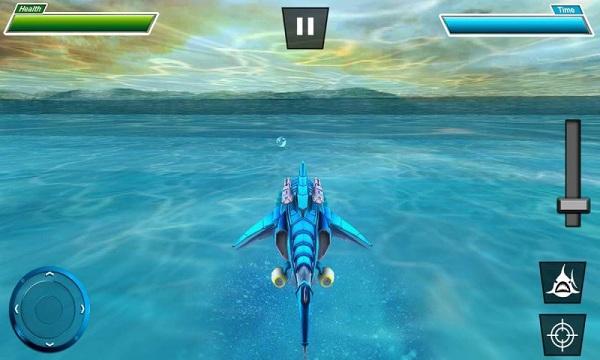 鲨鱼机器人破解版无限金币
