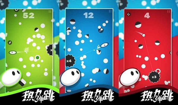 热力弹跳破解版无限是一款趣味性十足的益智闯关游戏吗?