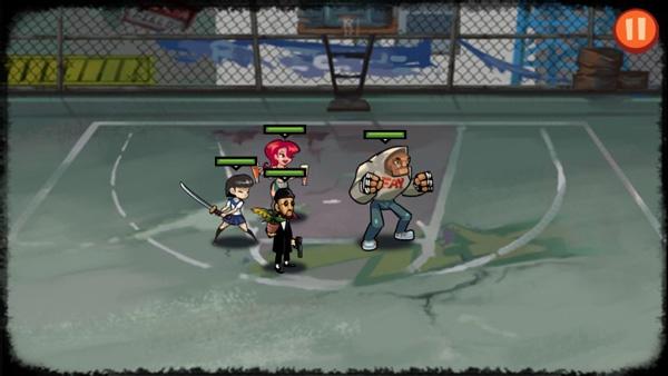 暴力街区内购版是一款复古风格的街机冒险类游戏吗?
