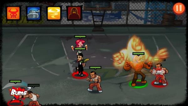 暴力街区破解版是一款漫画风格的格斗冒险游戏吗?