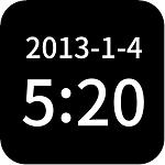 简黑时钟破解版v9.1