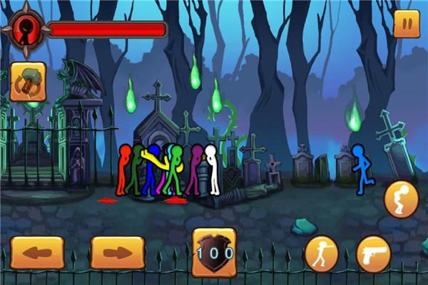 火柴人大乱斗手游是一款非常具有笑点的动作游戏吗?